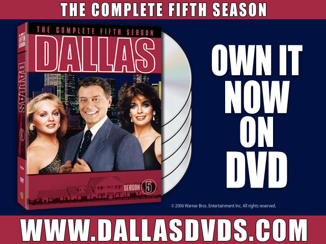 Dallas Season 5 on DVD