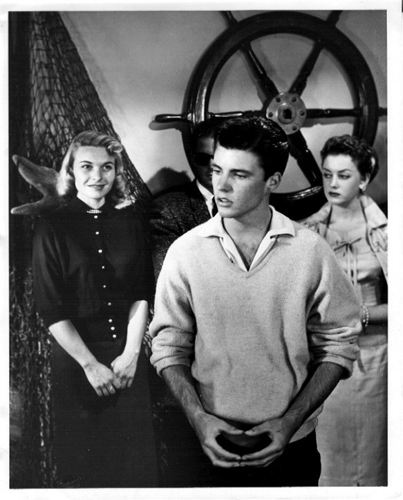 Connie Nelson (left), Ricky Nelson (middle)