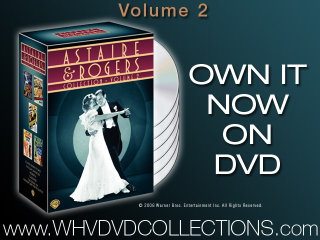 ASTAIRE AND ROGERS COLLECTION VOLUME 2 ON DVD