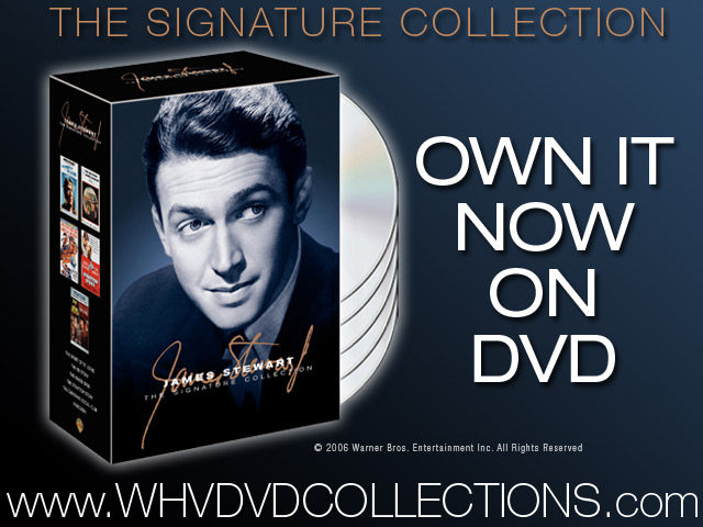 The James Stewart Signature Collection on DVD