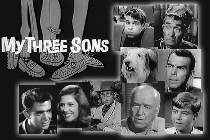 My Three Sons and the cast