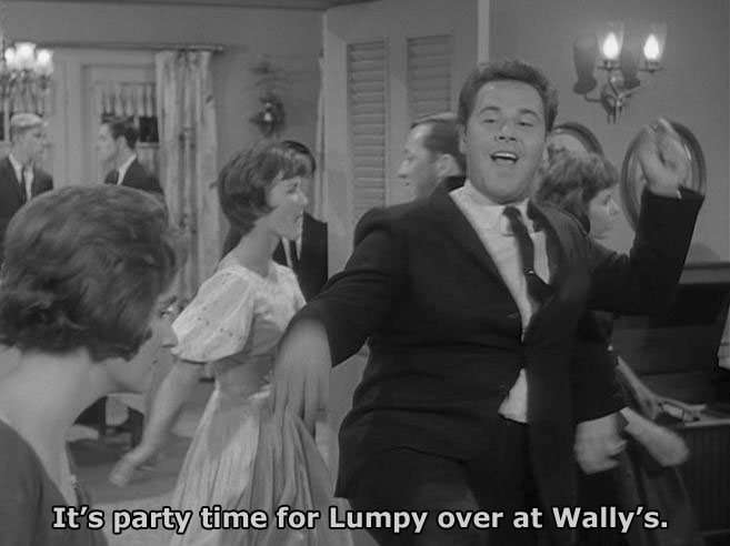 LUMPY AT WALLY'S PARTY