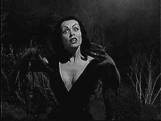 Vampira as the Vampire Girl